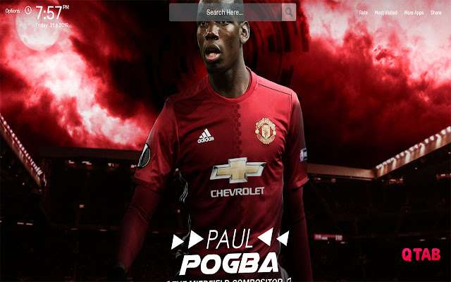 Paul Pogba Wallpapers HD Theme