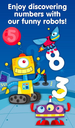 Robots Numbers math games
