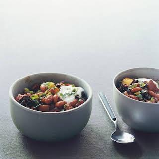 Pinto-Bean Mole Chili.