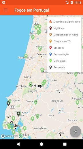 Fogos em Portugal 4.3 screenshots 3