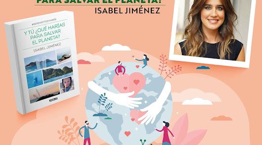 La televisiva Isabel Jiménez vuelve a casa para presentar su libro