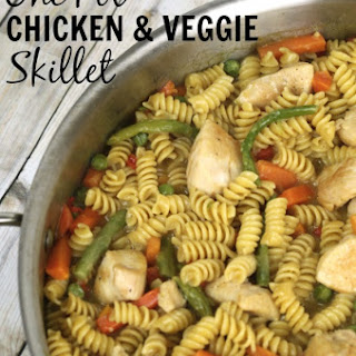 One Pot Chicken Veggie Skillet