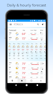 App Foreca Weather APK for Windows Phone