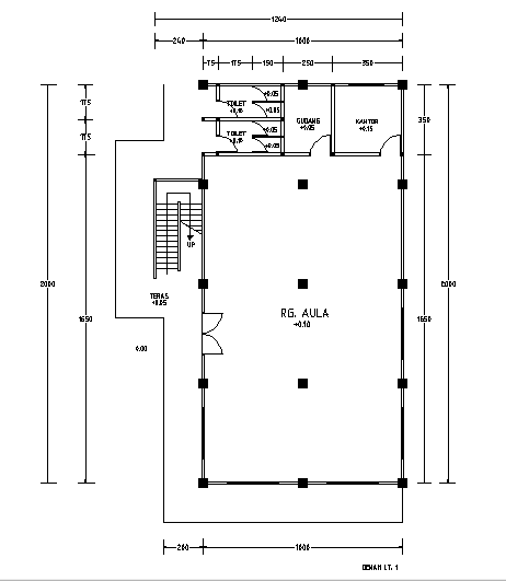 LibreCad Tutorial Simple Floor Plan Workflow