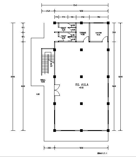 LibreCad Tutorial Simple Floor Plan Workflow