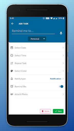 NotifyMe - Notes, Reminders and Birthdays ss3