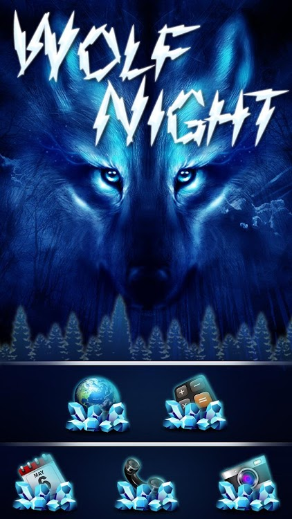 Free Wolf Night Launcher Theme – (Android Apps) — AppAgg