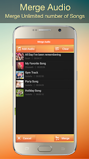 Audio MP3 Cutter Mix Converter and Ringtone Maker Screenshot