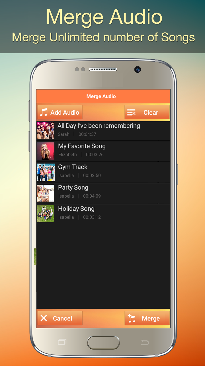 Audio MP3 Cutter Mix Converter and Ringtone Maker Screenshot 3