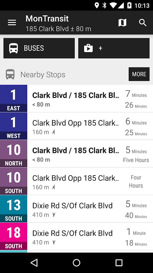 Brampton Transit Bus Montransit Android Apps On Google