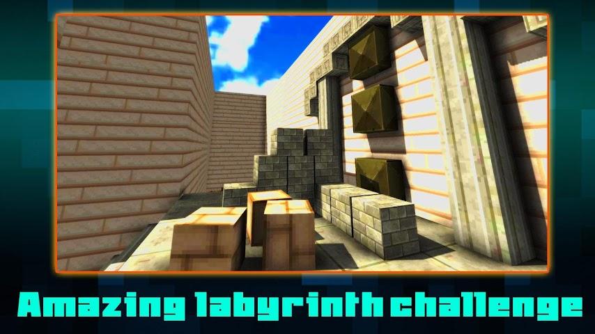 android Maze Climb Craft: Build Block Screenshot 0