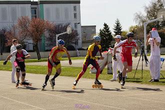 Photo: Olivier & Jo - course 1000m des Vétérans - le départ