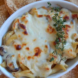 Chicken Marsala Pasta Bake Recipe