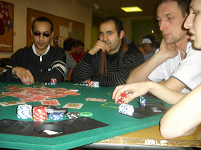 Photo: Table n°1 du championnat de France freeroll