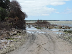 Photo: Track around 5 Mile drift on the Lake George, Road