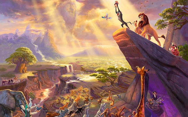 The Lion King - New Tab in HD