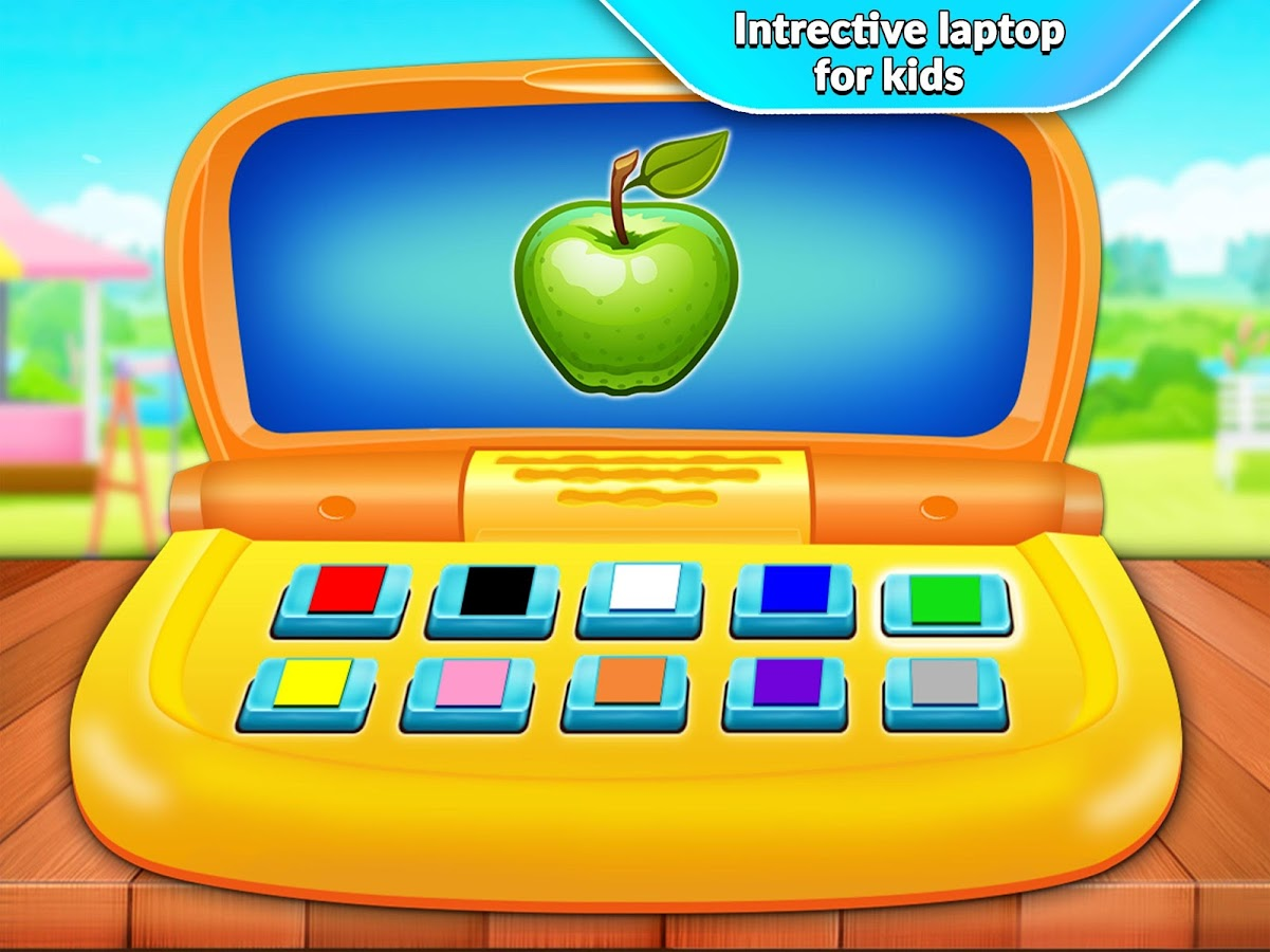 Kids Computer - Alphabet & Numbers Learning- screenshot