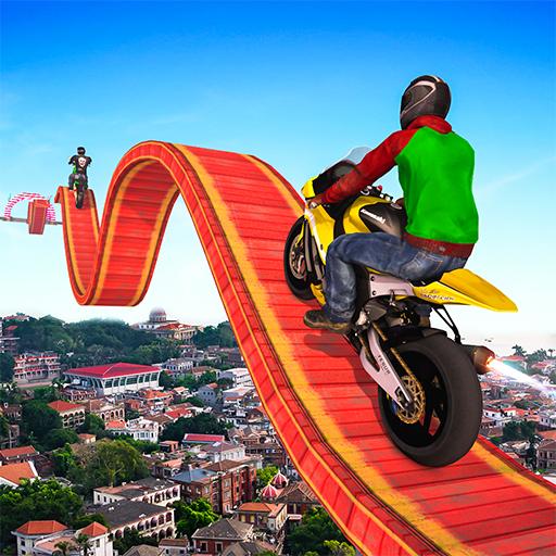 Impossible Motor Bike Stunt Driving Icon