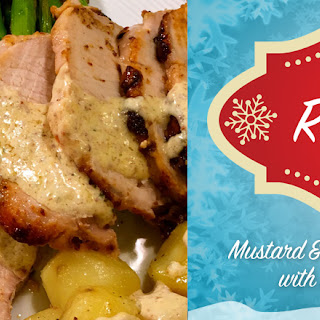 Mustard & Tarragon Crusted Pork Loin Recipe