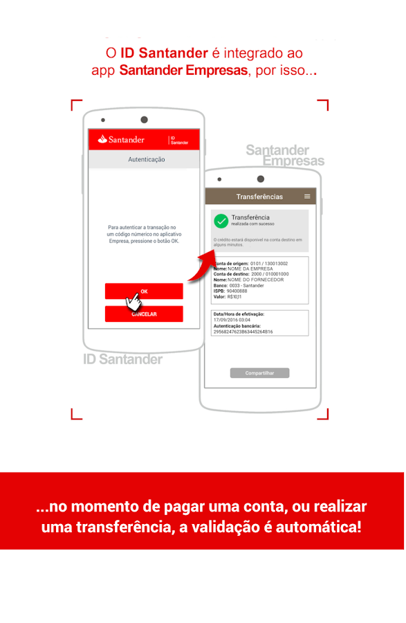 ID Santander- screenshot