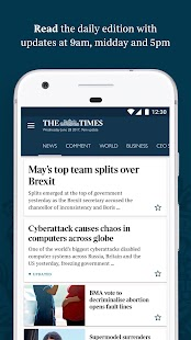 The Times & The Sunday Times- screenshot thumbnail