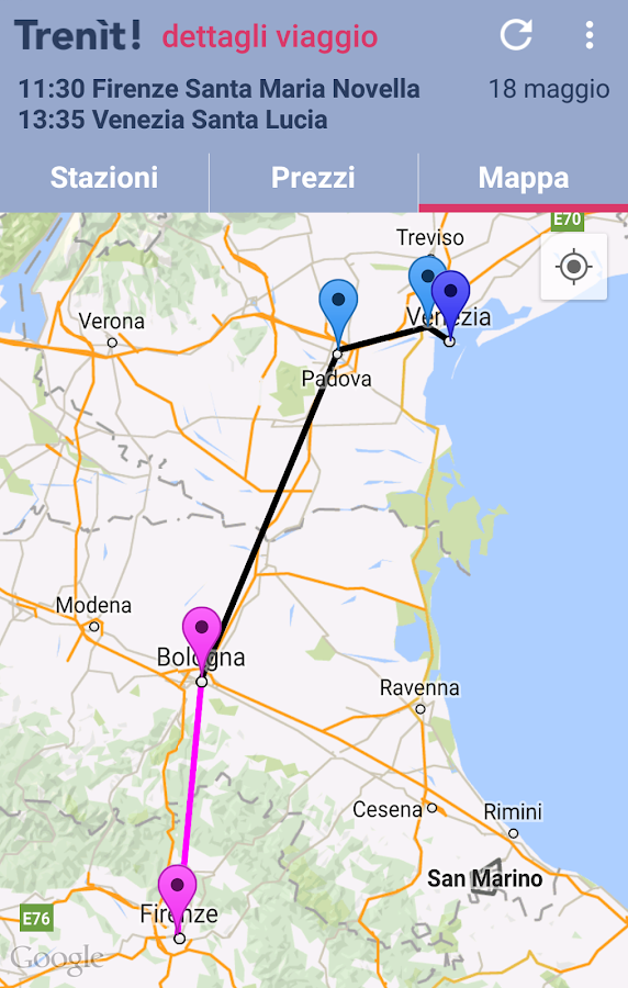 Trenit! (find trains in Italy)- screenshot
