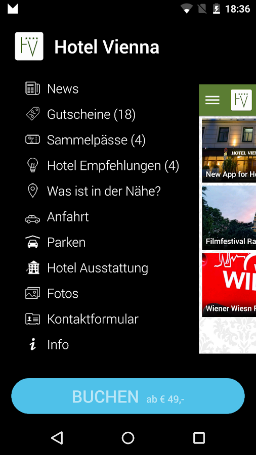 Hotel Vienna- screenshot