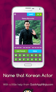 Name the Korean Actor Quiz 8.2.1 APK + Mod (Free purchase) for Android