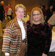 Photo: With the then-future out lesbian mayor of Houston, Annise Parker.