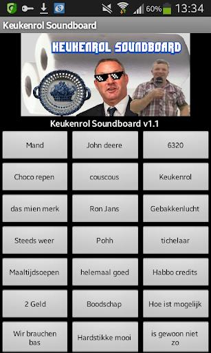 Keukenrol Soundboard