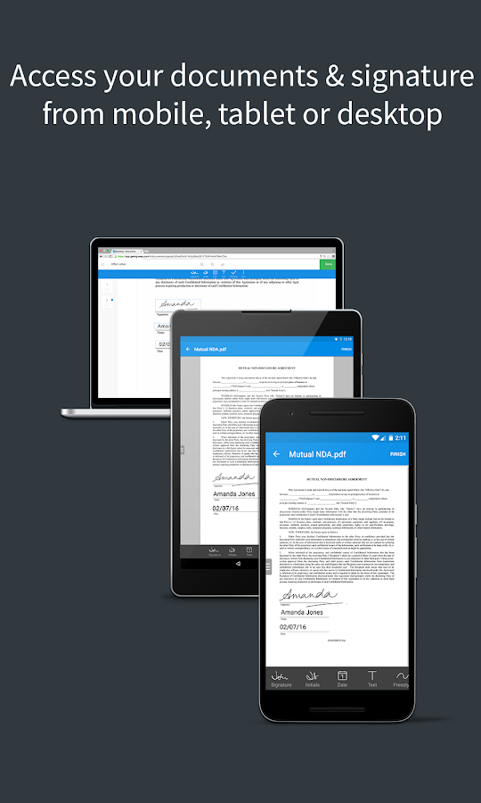 SignEasy | Sign documents- screenshot