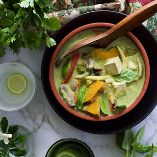 Green Curry With Home Made Paste.