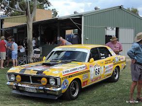 Photo: local entry in the Ausie Muscle Car Run raising money for the Leukaemia Foundation seehttp://www.aussiemusclecarrun.com/