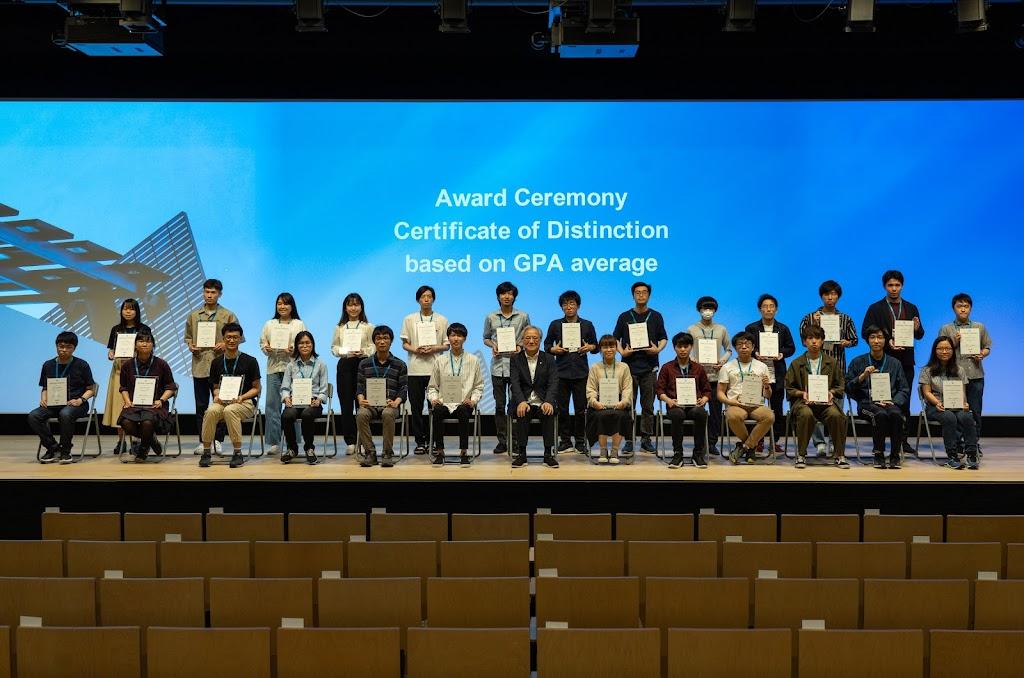 2021年 情報連携学部学生表彰について