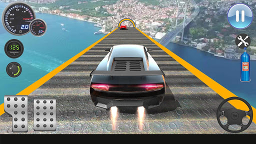Speed Car Racing Stunts- Impossible Tracks screenshot 7