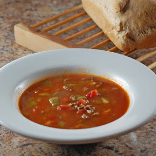 Soup With Hamburger And Pasta Recipes.