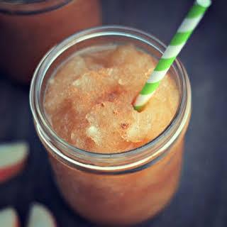 Apple Cider Slushie.