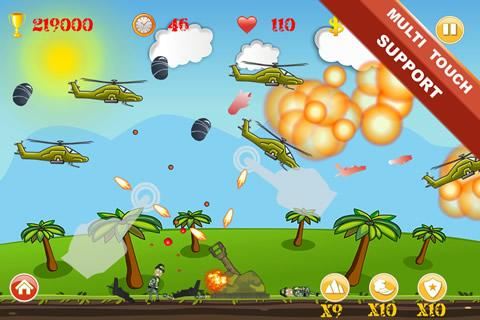Code Triche Heli Invasion mod apk screenshots 3