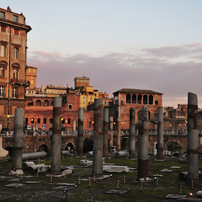 Rome! by My 1st Impressions - Landscapes Travel ( romans, rome, foro, italy, roman foro )