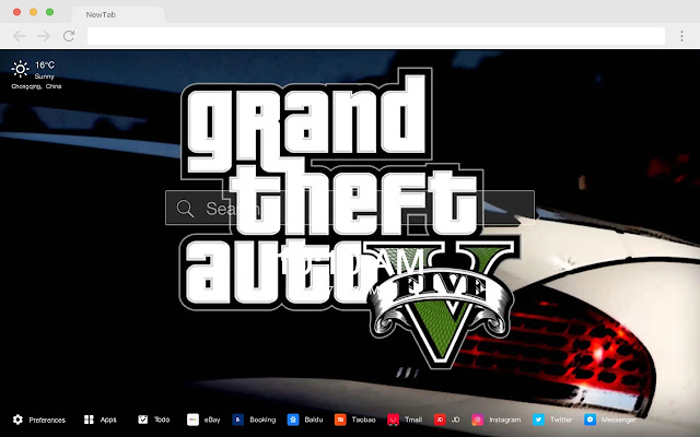 Grand Theft Auto Games New Tabs HD Themes