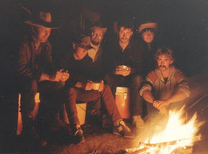 Photo: 1984 (Hase): Erlebnis des nächtlichen Lagerfeuers