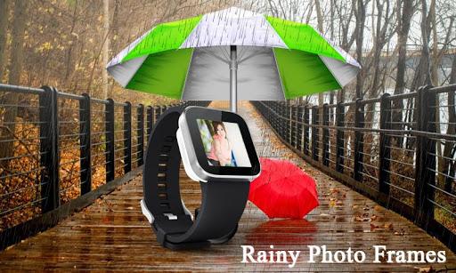 Rainy Photo Frames