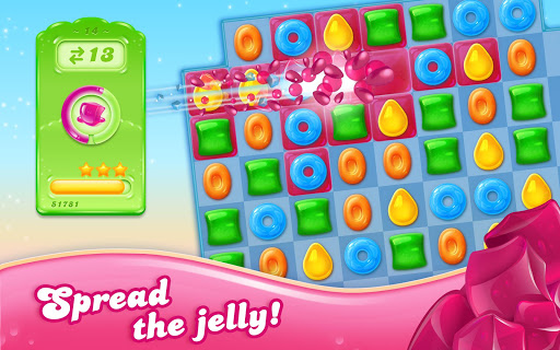Candy Crush Jelly Saga  gameplay | by HackJr.Pw 11