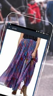 New Girls Skirts Design 2017 - náhled