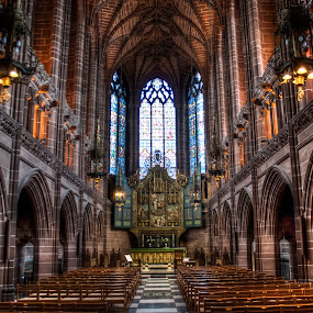 Liverpool's Anglican Cathedral by Celestyx Celestyx - Buildings & Architecture Other Interior