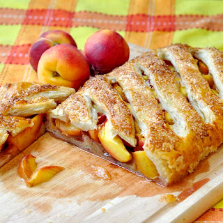 Shortcut Summer Peach Strudel.