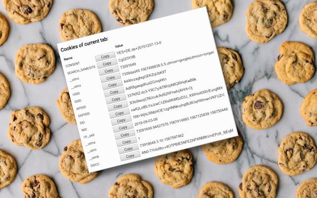 Cookie Tab Viewer