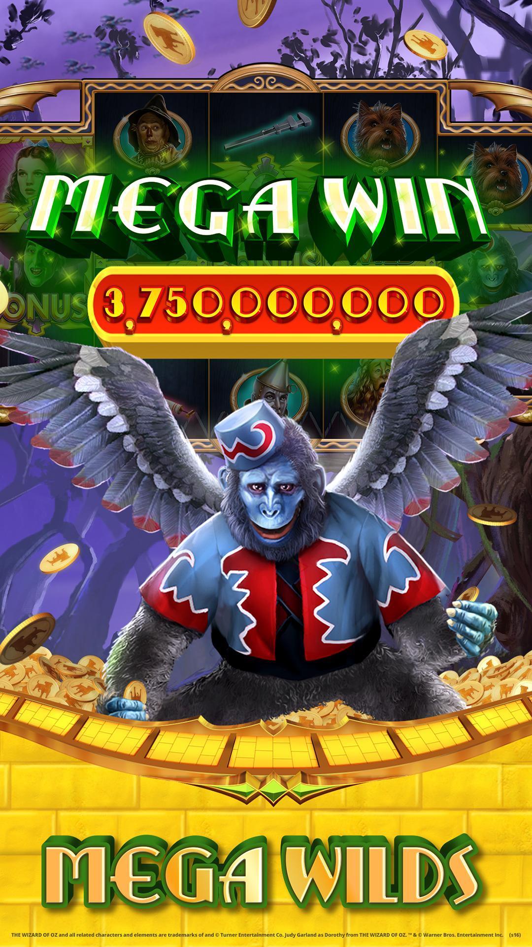 Wizard of Oz Free Slots Casino screenshot #2
