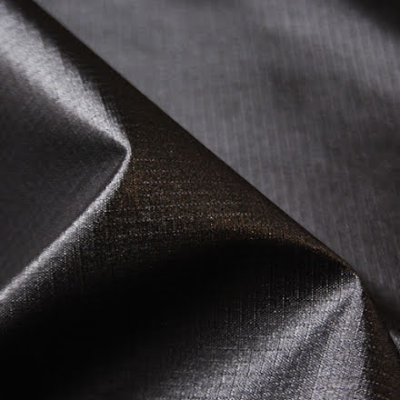 Ripstop Polyester - svart