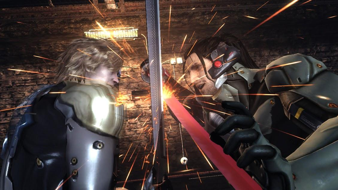 Metal Gear Rising: Revengeance- screenshot